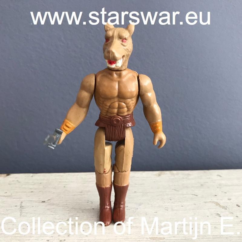 Serpent rider (Ragnar torso Wolf head)